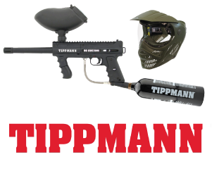 Rent the best: Tippmann paintball. 98 Custom Paintball Guns and Valor Masks.